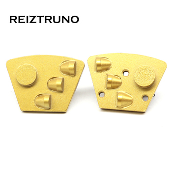 REIZTRUNO Trapezoid Diamond Metal Floor Grinding Disc one Segments and 3*1/2 PCD Concrete Floor Grinder For Epoxy Removal tool tool tool lateralus 2 lp picture disc