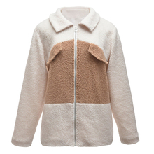 Buy Maternity Coats Winter  For Pregnant Women Outerwear Long Sleeve Autumn Zipper Plush Casual Faux Fur Coat Female Overcoat directly from merchant!