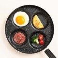 Скандинавская четырехярусная сковорода для омлета с антипригарным покрытием без масла-дыма сковороды для яиц ветчины блинница мини-завтра...