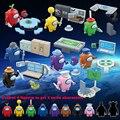 8 шт./компл. у нас пространство фигурки пришельцев, детские мягкие игрушки игра модель строительные блоки комплект Кирпичи Классические дет...