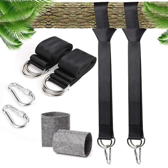 Tree Swing Straps 5Ft Adjustable Hanging Kit Heavy Strap For Tire Swings Hammocks Outdoor Hanger