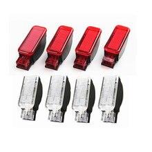Interior del coche rojo/blanco Panel de puerta luces de advertencia lámpara para A3 A4 B8 S4 A5 A6 C7 A7 A8 Q3 Q5 Q7 TT R8 RS3 RS4 8KD947411 8KD947415C