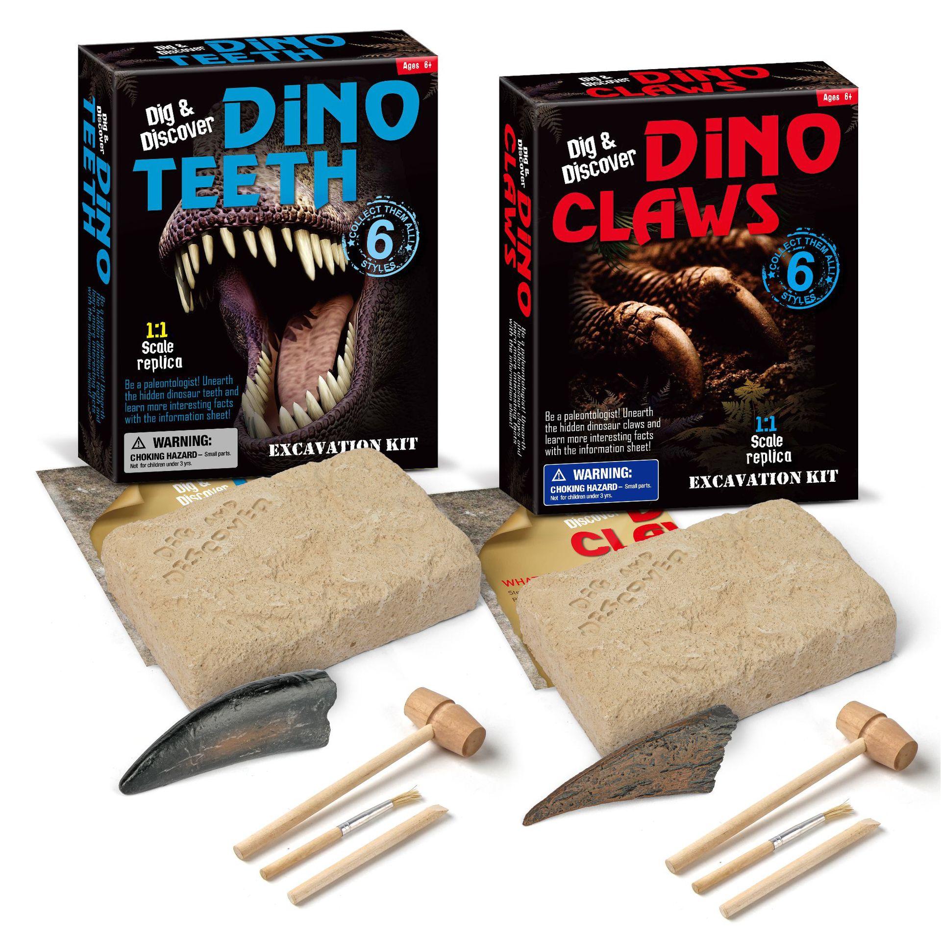 Crianças diy brinquedos de escavação novo dinossauro brinquedos arqueológicos 6 anos de idade e acima brinquedos educativos para casa