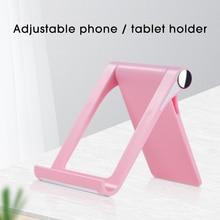 Universal Cell Phone Holder Desk Stand For iPhone 12 Samsung Xiaomi Smartphone Support Tablet Desktop Holder Mobile Stand