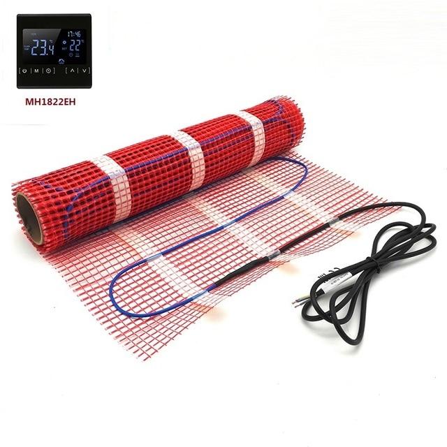 Minco calor 5 1515m2 gêmeo condutor kits de esteira de aquecimento por piso radiante sob telha piso quente