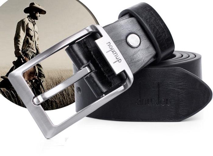 Belts For Men New Mens Leather Single Prong Belt Business Casual Dress Metal Buckle Solid Color Soft Leisure Puls Size Belt