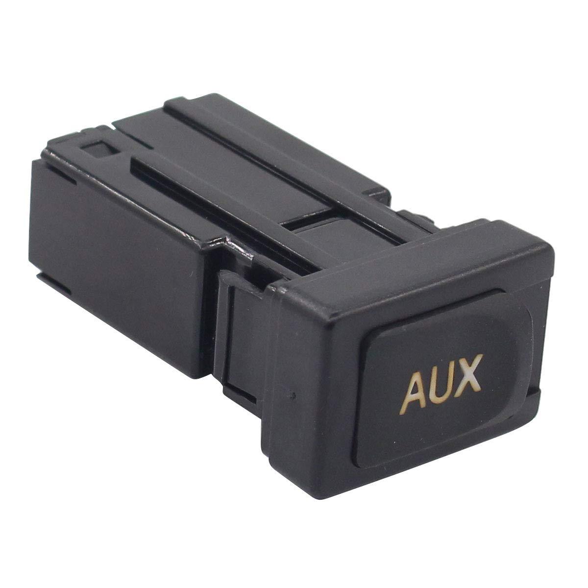 Для RAV4 автомобиля AUX аудио интерфейс стерео для Toyota Переключатель окон Corolla OE: 86190-02010