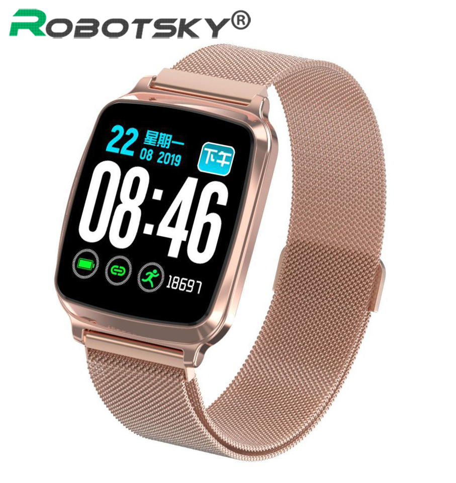 <font><b>M8</b></font> <font><b>Smart</b></font> <font><b>Watch</b></font> Women Men Heart Rate Blood Pressure Monitor IP67 Waterproof Sports <font><b>Smart</b></font> Bracelet 2.5D Sceen For Android IOS image