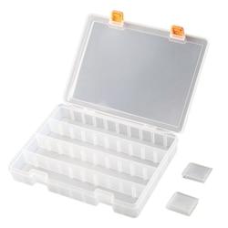 Pudełka do sprzętu (36 siatki) sprzęt wędkarski plastikowe pudełko do przechowywania z wyjmowanymi przegrodami tace na sprzęt skrzynia na części w Torby wędkarskie od Sport i rozrywka na