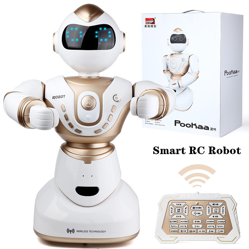 Smart Robot Toy Voice Conversation RC Robot Children's Educational Toys Remote Control Robot inteligente Toys For children Gifts
