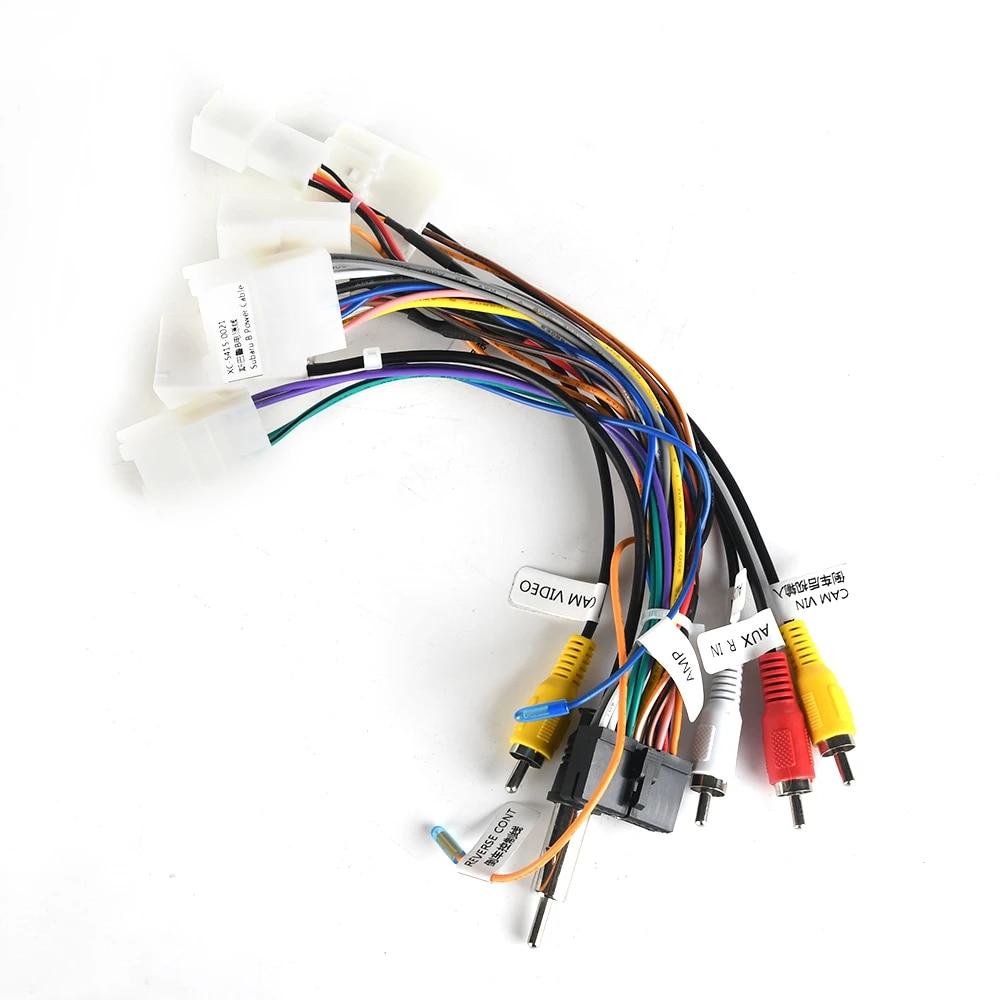 dasaita dyx027 car cd audio wiring harness adapter with radio antenna  adapter aux cable subaru forester gps 2016 2017 2018|car multimedia player|  - aliexpress  aliexpress