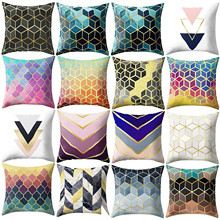 Pillowcase Cushion-Cover Sofa-Bed Square Home-Decoratio Rose Living-Room Living-Room