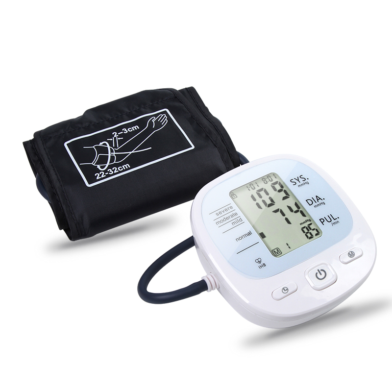 Digital Upper Arm Blood Pressure Pulse Monitor Full Automatic  Wrist Monitor Meters Sphygmomanometer Hypertension Care
