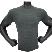 Мужские футболки для тренировок и бега, Компрессионные спортивные футболки с коротким рукавом, быстросохнущая дышащая Спортивная одежда для фитнеса, спортзала, футбола, Джерси