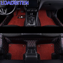 Accessory Parts Interior Modified Styling Modification Auto Protector Automovil Carpet Car Floor Mats FOR Skoda Octavia