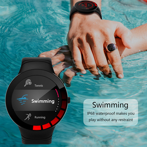 Image 4 - Jelly Comb Men Sport Smart Watch Waterproof IP68 Heart Rate Smart Watch for Huawei ios Full Touch Bluetooth Smartwatch Pedometer