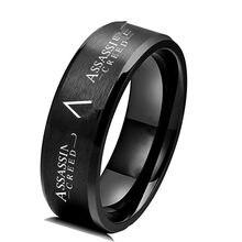Anel de aço inoxidável anel de dedo anel de aço inoxidável anéis de aço inoxidável para mentitanium anéis de metal presente anel de aço jogo de transporte da gota