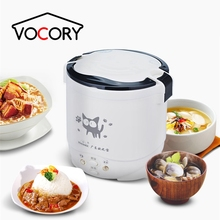 NEW 1L Electric Mini Rice Cooker MultiCookers Portable Rice Cooker Used In House 220V Or Car 12V Truck 24V Multicookings