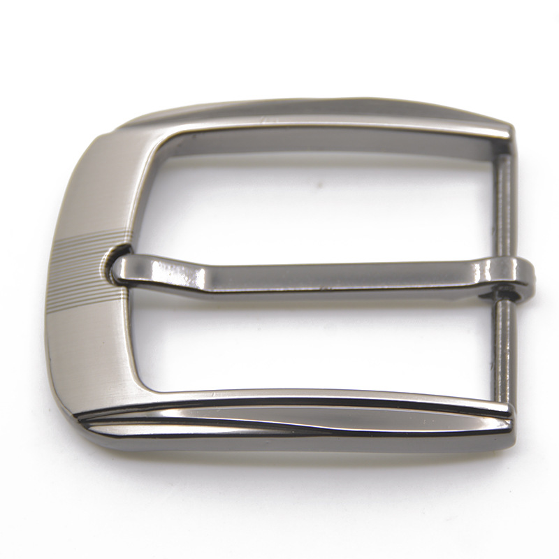 35mm Silver Metal Pin Buckle Fashion Waistband Buckles Belt DIY Replacement Men's Solid Leather Craft Buckle Accessories 2020