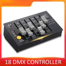 0.5W Mini DMX-18 Stage Controller DMX 512 Console DJ Equipment Lighting Fixture For DJ Show Pub Club KTV Bar Party lights(China)