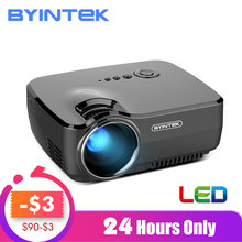BYINTEK marca SKY GP70 Mini LED portátil cine Video Digital HD Home Theater proyector regalo familiar(China)