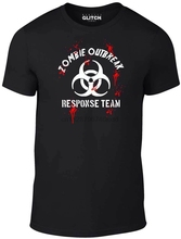 Men Zombie Outbreak Response T-Shirt - Gift Walkers Film Movie Fancy Dress Fashion Men Summer Hip Hop Fitness T Shirt Design outbreak