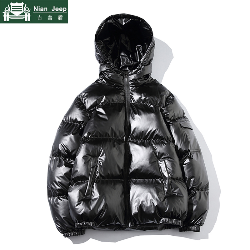 Winter Jacket Men Streetwear Thick Parka Male Fashion Young Hip Hop Cotton-Padded Jacket Brand Quality Outwear Coats Size M-5XL