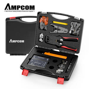 AMPCOM Network-Tool-Kit Lan-Cable-Tester Computer Repair-Set Maintenance Professional