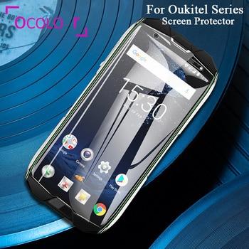 Перейти на Алиэкспресс и купить Цветной чехол для Oukitel WP2 WP5000 Y4800 C12 Pro C13 Pro C15 Pro Mix 2 K8 K12 K13 Pro из закаленного стекла Защитная пленка аксессуар