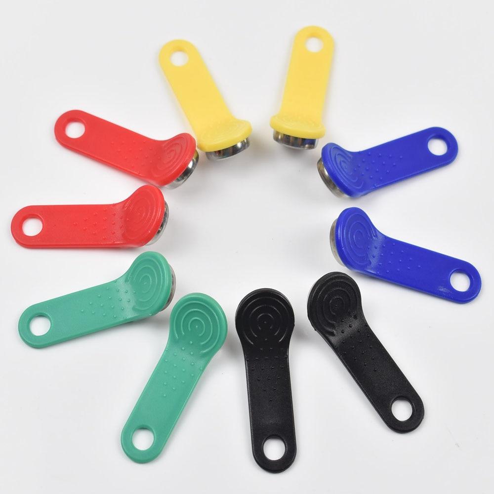 10pcs/lot Rewritable RFID Touch Memory Key RW1990 IButton For Copy Card Sauna Dallas Keys Cards