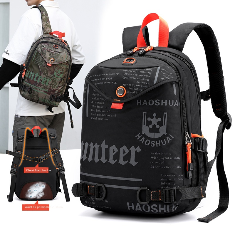 Outdoor Sports Backpack Mountaineering Travel Backpack Multi-Function Tactical Backpack backpack purse bookbag laptop backpack