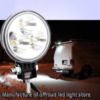 ECAHAYAKU 20pcs 3 9W LED Work Light 6000K Spot/Flood Beam Waterproof IP67 for Offroad Trucks Jeeps Boats 12V/24V Car LED Lamp