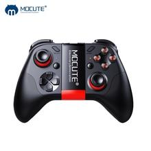 Mocute 054 gamepad pubg móvel controlador android joystick sem fio vr joypad smartphone tablet pc telefone smart tv jogo almofada