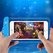 wangcangli Universal swim waterproof phone pouch cover fluorescent for iPhone 7 plus xiaomi Mobile case cases Bag