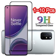 1 10 stücke, gehärtetem glas für one plus 8 t oneplus nord screen protector oneplus 8 t one plus nord glas film oneplus 8 t glas
