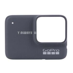 Image 2 - ZESTAW DO NAPRAWIANIA dla płyta przednia GoPro w celu uzyskania płyty czołowej nowy oryginalny przedni Panel pokrywa dla GoPro Hero 7 czarny/biały/ srebrny
