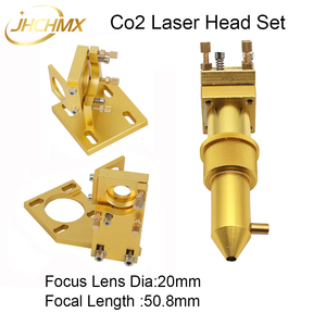 Image 4 - JHCHMX High Quality Co2 Laser Head Set for Model 2030 4060 K40 Small Co2 Laser Cutting Machines Co2 Laser Head Accessories