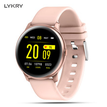LYKRY KW19 Smart watch Women Heart rate monitor Multi-Languages IP67 Waterproof Men Sport Watch Fitness Tracker For Android IOS