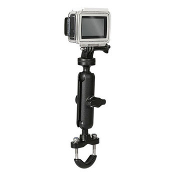 Motorcycle Bike Camera Holder Handlebar Mirror Mount Bracket 1/4 Metal Stand For GoPro Hero8/7/6/5/4/3+ Action Cameras Accessory 7