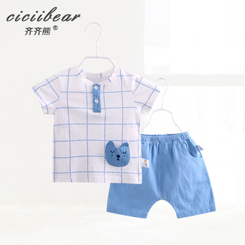 ciciibear  newborn baby Summer clothes Baby boy  Cotton Clothing boys Sets girls Clothes set kids Outfits children s suit baby boy clothes set cotton long sleeve sets for newborn baby boys outfits baby girl clothing kids suits pajamas