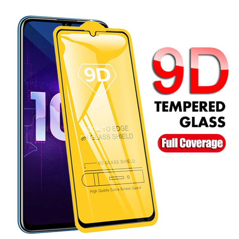 Protective Glass On For Honor 10 Lite 3D Tempered Glass For Huawei Honor 10 Light 9 20 Lite 9A 9C 9X 10i Safety Screen Protector