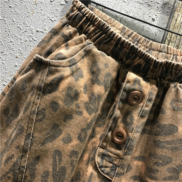 Fashion Leopard Jeans  4
