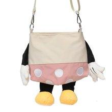 Purse Disney Girl School-Shoulder-Bag Coin Elementary Mickey Children's Cartoon Cute