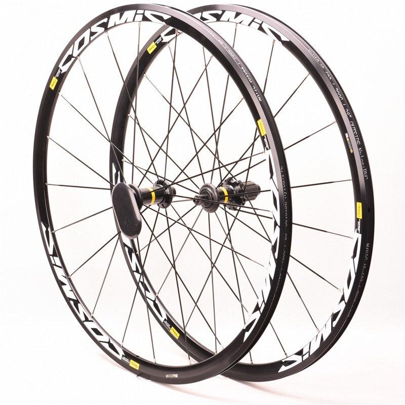 Original Heißer verkauf Cosmic Elite S700c Legierung Räder BMX Straße Fahrrad Bike Rad V Bremse Aluminium Laufradsatz Fahrrad Räder Felgen