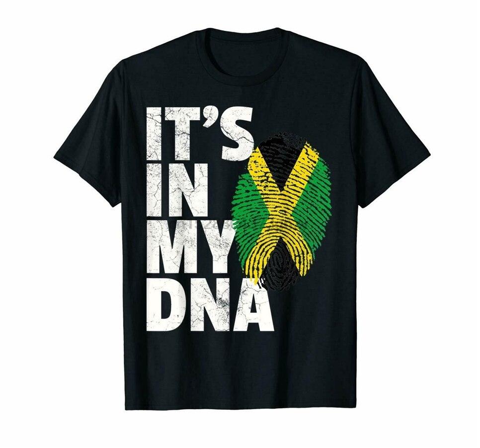 Jamaica Flag T Shirt Jamaican Pride DNA Men Women Gift Vintage Men Gift Tee