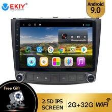 Ekiy para lexus is250 is300 is200 is220 2005-2012 rádio automático 2din android 9 dvd carro multimídia vídeo player de navegação estéreo gps