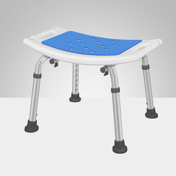 Elderly Medical Bath Tub Aid Seat Without Back Chair Height Adjustable Non Slip Seat Disabled Elderly Pregnancy stool for shower