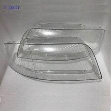 Os faróis dianteiros da lâmpada de vidro concha da lâmpada, máscaras transparentes para audi a6 c5 2003  2005