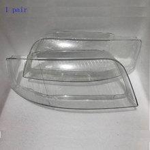 Phares de phares avant en verre