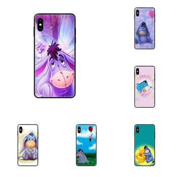 Classic Phone Accessories Case For Galaxy S5 S6 S7 S8 S9 S10 S10e S20 edge Lite Plus Ultra Art Eeyore image